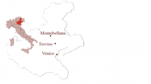 Montebelluna is situated in the region of Veneto