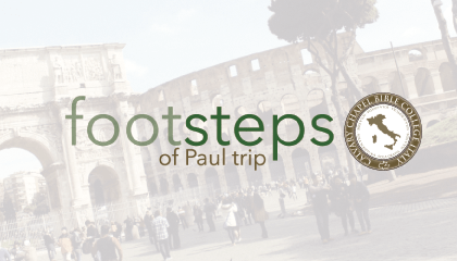 Footsteps of Paul